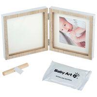 Baby Art Avtrykksramme tre firkantet