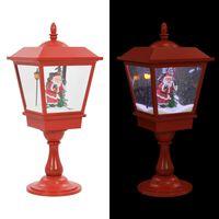 vidaXL Sokkellampe julemotiv med julenisse 64 cm LED