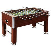 vidaXL Fotballbord stål 60 kg 140x74,5x87,5 cm brun