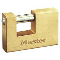 Master Lock Pansret hengelås solid messing 85 mm 608EURD