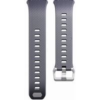 Silikonarmbånd kompatibel med Fitbit Ionic - Grå - S