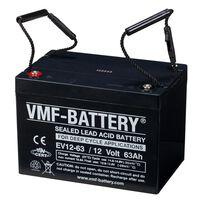 VMF AGM Dypsyklus EV-batteri 112 V 63 Ah EV12-63