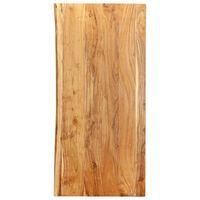 vidaXL Topplate til baderomsmøbler heltre akasie 120x55x2,5 cm
