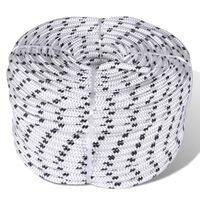 Båttau 14 mm x 50 m spiralflettet polyester