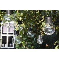 Luxform Batteridrevne partylys med 10 lysdioder Menorca gjennomsiktig