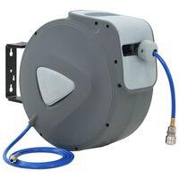"vidaXL Automatisk luftslangetrommel 1/4"" 30 m"