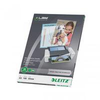 Leitz Lamineringslommer ILAM 80 mikroner A3 100 stk