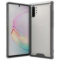 Slagfast Samsung Galaxy Note 10 Plus - gjennomsiktig / svart