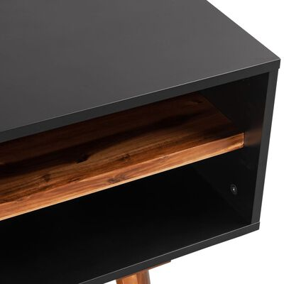 vidaXL TV-benk heltre akasie 120x35x50 cm