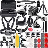 GoPro kit med 45 deler + Veske
