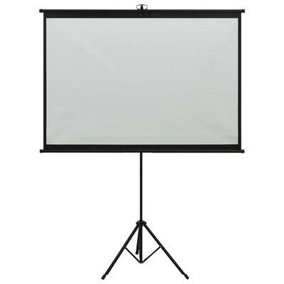 """vidaXL Projeksjonsskjerm med stativ 47"""" 1:1"""