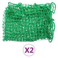 vidaXL Tilhengernett 2 stk 1,5x2,2 m PP