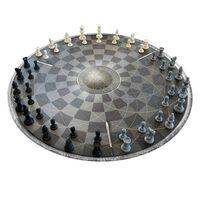 Sjakk for Tre - Rund Sjakkbrett
